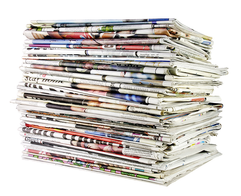 stack-of-recycled-newspapers